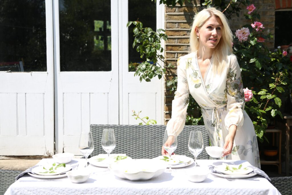 Summer table styling with Sophie Conran for Portmeirion