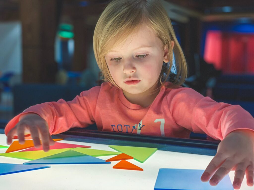 Use shapes to help your child with math