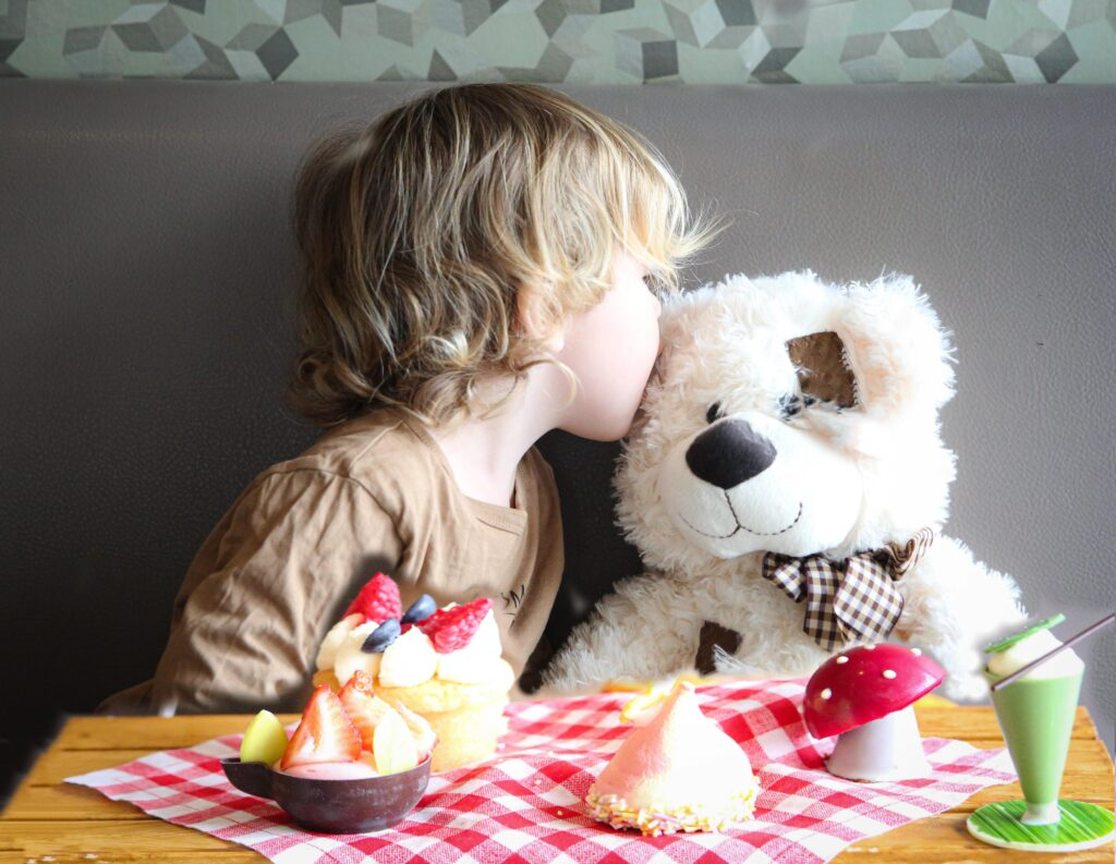 Children's Afternoon Tea at The London Hilton on Park Lane with a Teddy